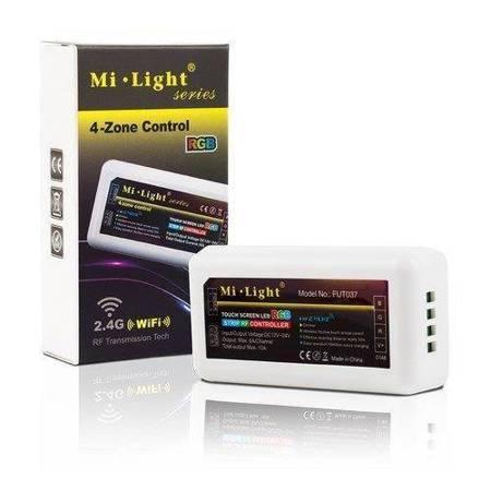 Kontroler taśm LED RGB 4 strefy Mi-light FUT037