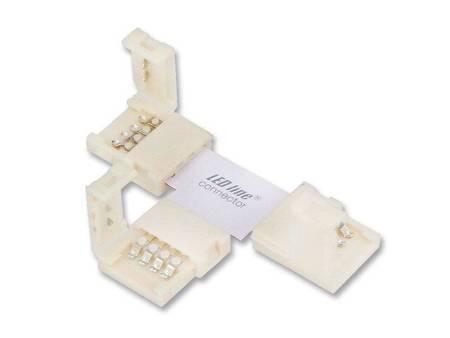 Łącznik kątowy CONNECTOR CLICK do taśm LED line® 10mm 4 pin typ T
