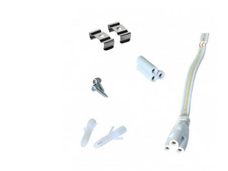 Lampa LED ART T5 16W 120 cm AC-230V biała neutralna - zintegrowana
