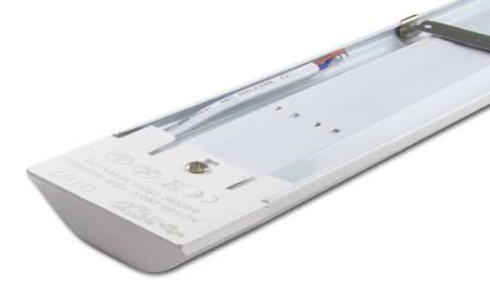 Lampa LED slim 48W 150cm 230V AC liniowa, natynkowa, zawieszana - biała neutralna