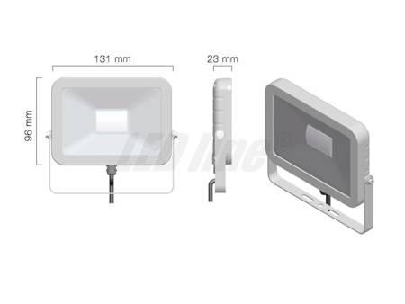 Naświetlacz LED 230V 10W 800lm biały dzienny / Halogen LED