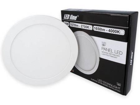 Panel LED line® EasyFix 18W 1570lm 2700K biała ciepła