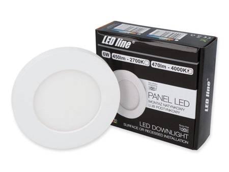 Panel LED line® EasyFix 6W 470lm 4000K biała dzienna