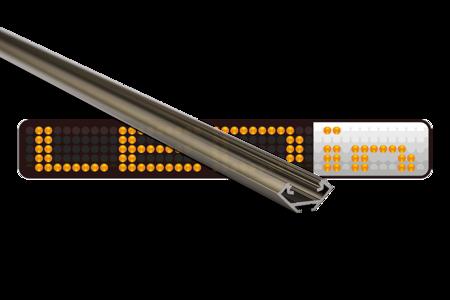 Profil narożny INOX anodowany typ C 1 metr