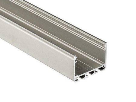 Profil nawierzchniowy srebrny anodowany typ ILEDOS 1 metr
