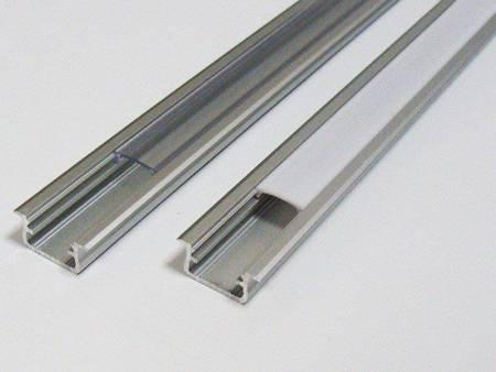 Profil wpuszczany srebrny anodowany typ B 1 metr