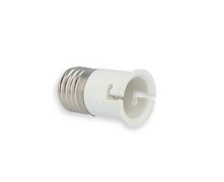Przejściówka żarówki (adapter) E27 > B22