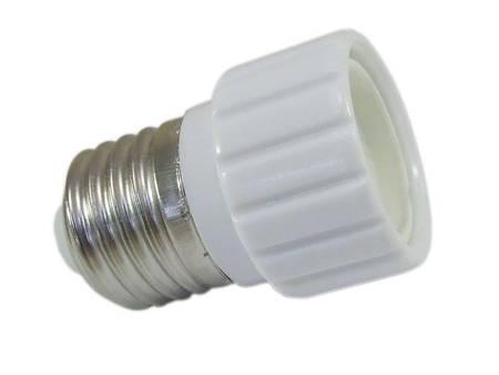 Przejściówka żarówki (adapter) E27 > GU10