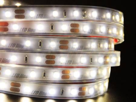 Taśma LED line 300 SMD 3528 biała dzienna 3900-4175K w osłonie silikonowej IP67 5 metrów
