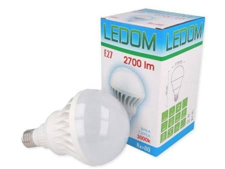 Żarówka LED E27 220-240V 30W 2700lm 3000K biała ciepła