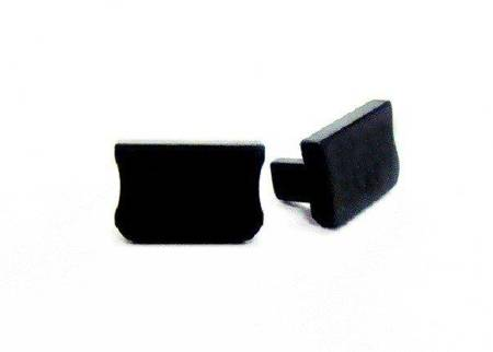 Zaślepka 1 sztuka do profilu nawierzchniowego Lumines typ A czarna
